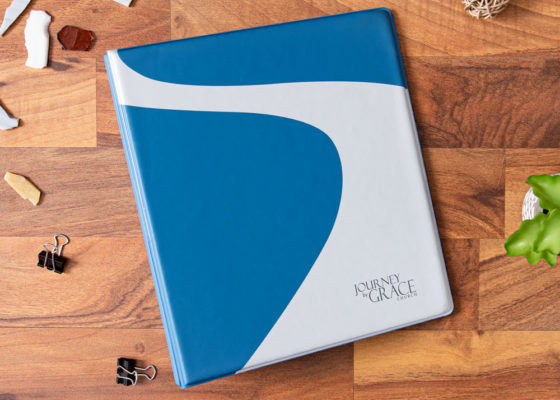 journey by grace custom jr size binder