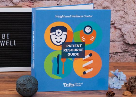 Tufts Medical center custom binder