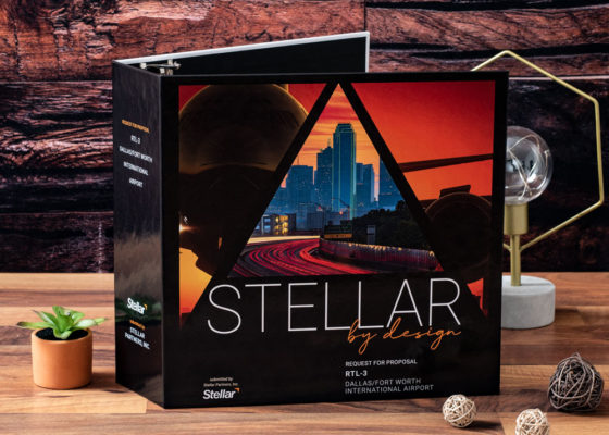 Stellar by design custom binder