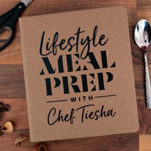 Lifestyle meal prep custom binders
