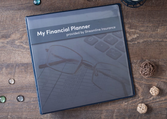 My financial planner custom binder