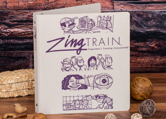 zingerman custom EarthBinder front cover