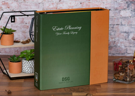DSG Custom Estate Planning Binder