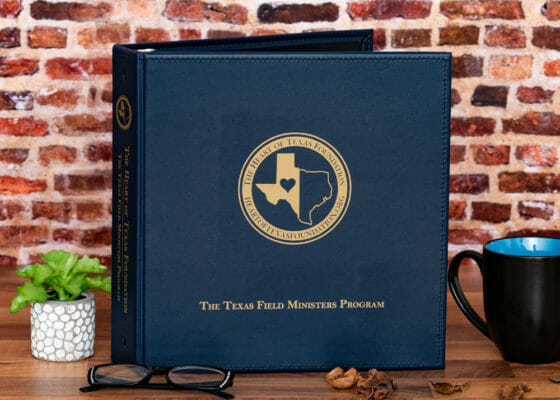 Heart of Texas Foundation Custom Binder
