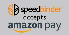 SpeedBinder Accepts Amazon Pay