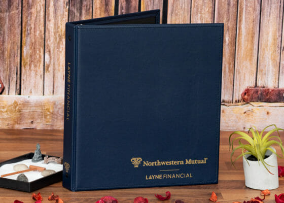 Layne Financial Custom Binder front cover