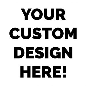 full custom design thank you card